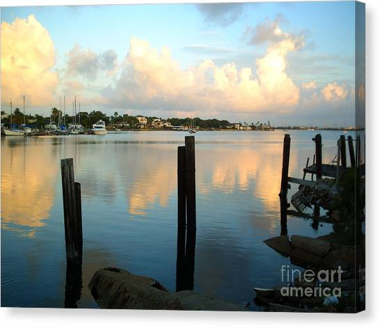 Calm Waters Canvas Print