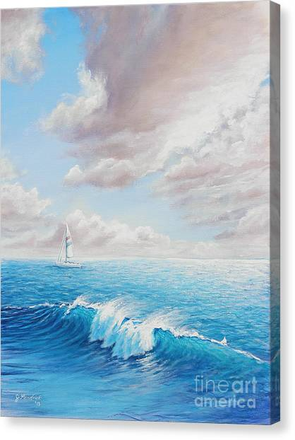 Calming Ocean Canvas Print