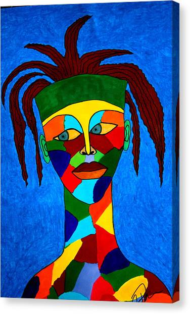 Calypso Man Canvas Print