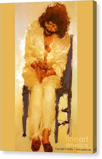 Camaron II Canvas Print by Zaafra David