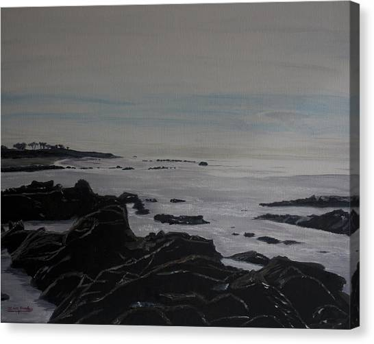 Cambria Tidal Pools Canvas Print