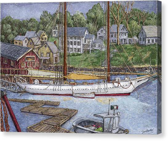 Camden Maine Canvas Print