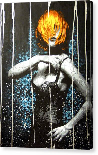 Came Back Haunted Canvas Print by Bobby Zeik