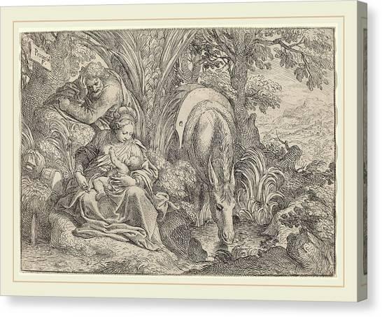Procaccini Canvas Print - Camillo Procaccini Italian, C. 1555-1629 by Litz Collection