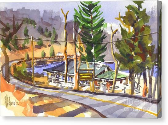 Camp Penuel At Lake Killarney Canvas Print