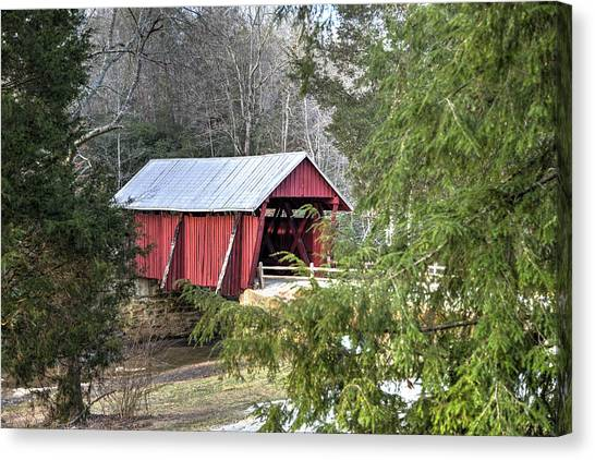 Campbell's Covered Bridge-1 Canvas Print