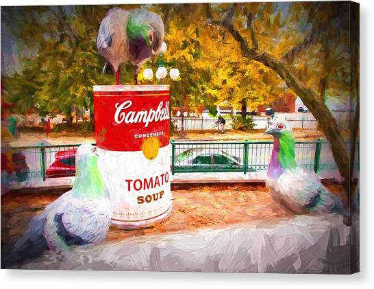 Campbell's Soup Canvas Print