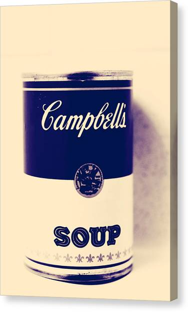 Campbells Soup Canvas Print