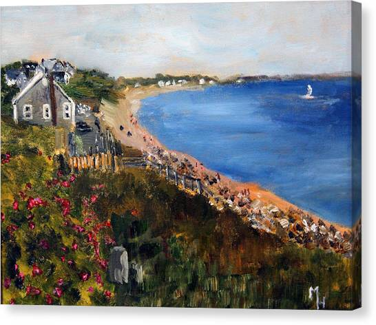 Campground Beach Eastham Canvas Print