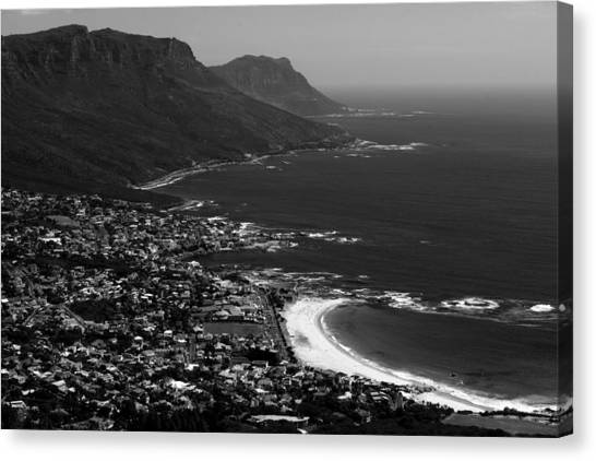 Camps Bay Cape Town Canvas Print