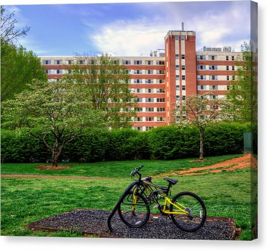 Campus Transportation Canvas Print