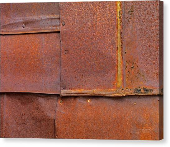 Can Wall 5 Canvas Print by Leland D Howard