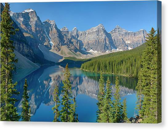 Alberta Canvas Print - Canada, Banff National Park, Valley by Jamie and Judy Wild