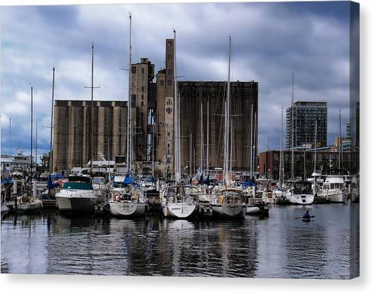 Canada Malting Silos Harbourfront Canvas Print