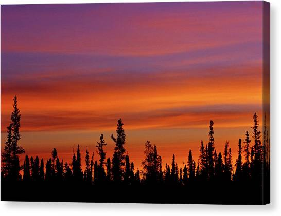 Northwest Territories Canvas Print - Canada, Northwest Territories, Ft by Jaynes Gallery