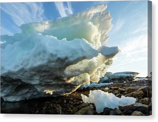 Nunavut Canvas Print - Canada, Nunavut Territory, Melting by Paul Souders