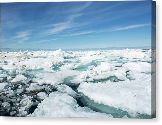 Nunavut Canvas Print - Canada, Nunavut Territory, Midday by Paul Souders