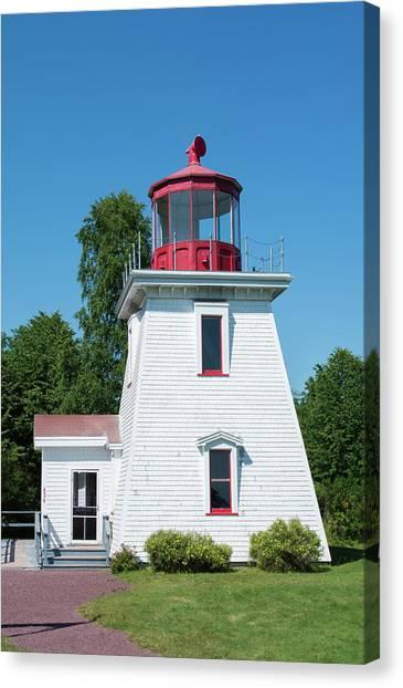 New Brunswick Canvas Print - Canada, St Martins, New Brunswick by Bill Bachmann
