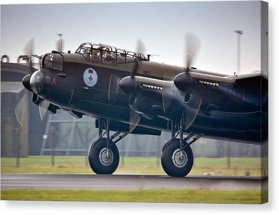 Canadian Lancaster Bomber Canvas Print