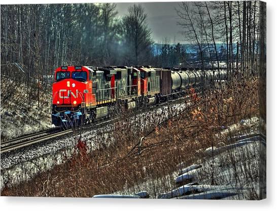 Canadian National Railway Canvas Print