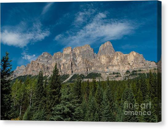 Canadian Rockies 2.0570 Canvas Print by Stephen Parker