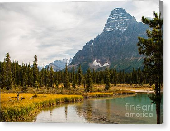 Canadian Rockies 2.0604 Canvas Print by Stephen Parker