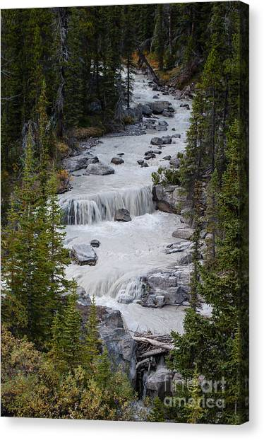 Canadian Rockies 2.0608 Canvas Print by Stephen Parker