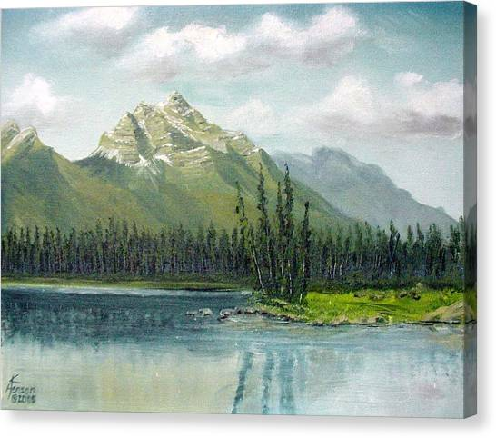 Canadian Rocky Mountains Canvas Print