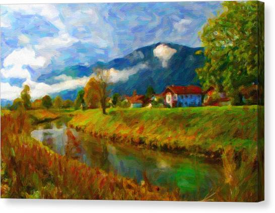 Canal 1 Canvas Print