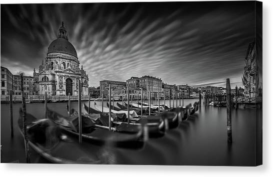 Cathedrals Canvas Print - Canale Grande by Sven Kohnke