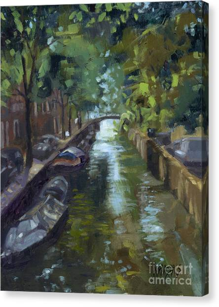 Sold Canals Of Coexistence Canvas Print