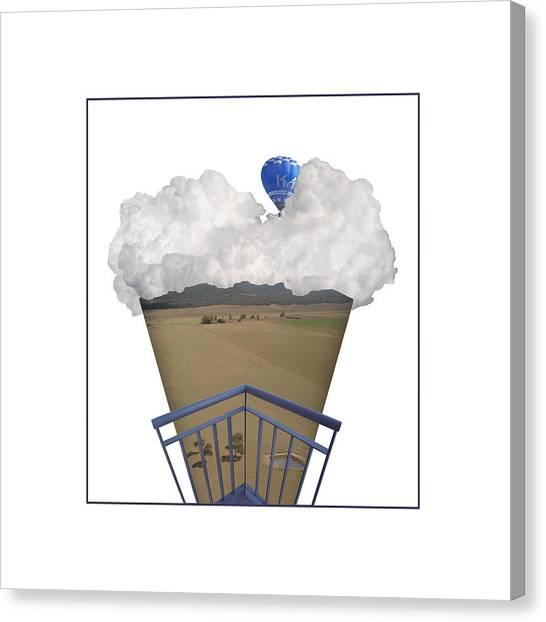 Canberra Icecream Canvas Print by Jennifer Kathleen Phillips