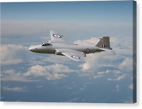Canberra Canvas Print - Canberra Pr9 - ' Up Where She Belongs' by Pat Speirs