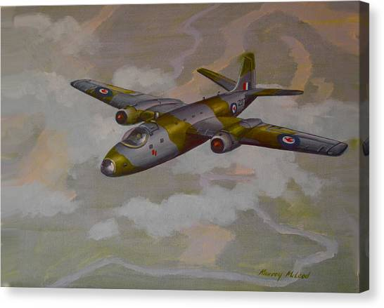 Canberra Sortie Canvas Print