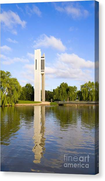 Canberra Canvas Print - Canberra The Carillon by Colin and Linda McKie