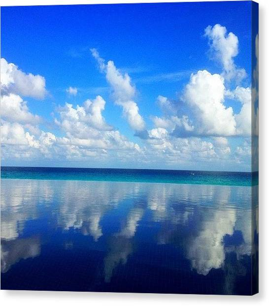 Wine Canvas Print - #cancun #tbt by Thewinery Wine
