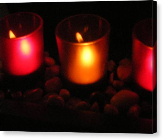 Candle Magick Canvas Print