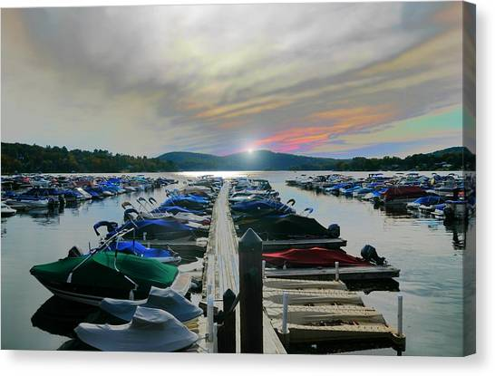 Candlewood Lake Canvas Print