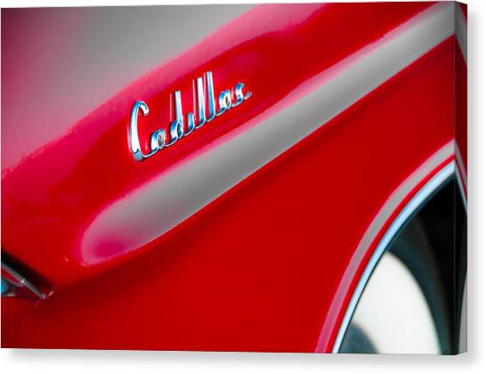 Candy Apple Red Canvas Print by David Pinsent