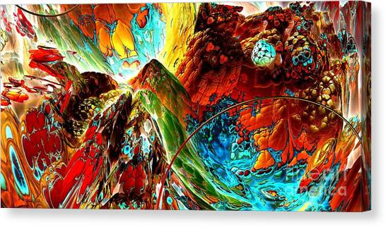 Candy Moutain Canvas Print by Bernard MICHEL