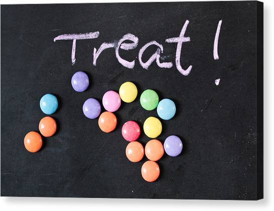 Selection Canvas Print - Candy Treat by Tom Gowanlock