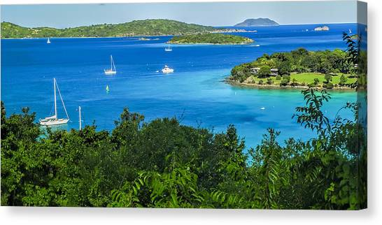 Caneel Bay Canvas Print