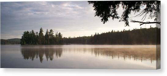 Canisbay Lake - Panorama Canvas Print
