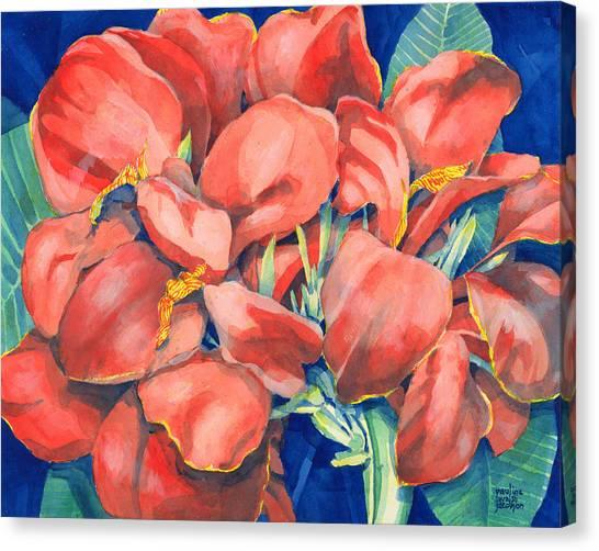 Cannas Canvas Print