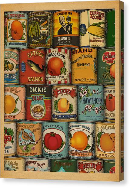 Canned Canvas Print
