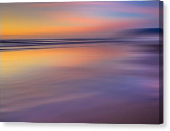 Cannon Beach Abstract Canvas Print