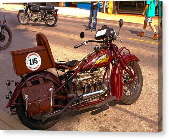 Cannonball Indian #115 Canvas Print