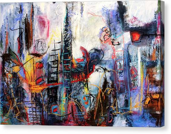 Can't Believe A Word He Says Canvas Print