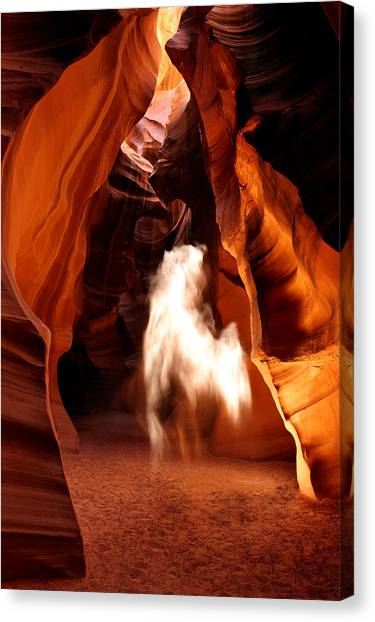 Canyon Apparition Canvas Print