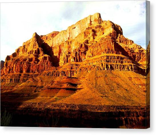 Grand Canyon Canvas Print - Canyon Color by Ray Dugan